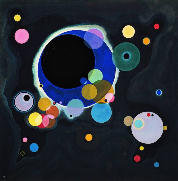 Vasilij Kandinskij (1866 - 1944) – Diversi cerchi – Museo Guggenheim