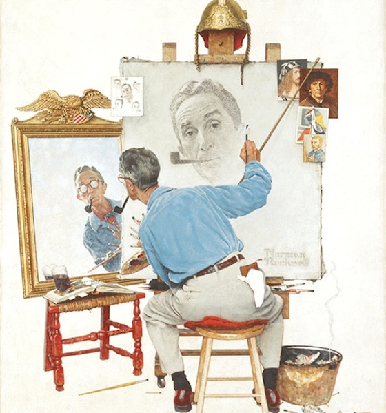 rockwell-Triple-self-portrait-1960.JPG