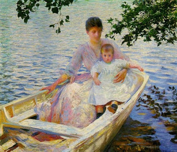 tarbell-mother-and-child-in-a-boat-mfa.JPEG