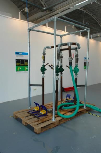 Generatore umano di energia ad aria compressa in pressione