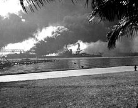File source: http://commons.wikimedia.org/wiki/File:USS_Nevada_burning-Pearl_Harbor2.jpg